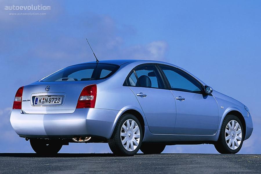 Nissan Primera Sedan Specs 2002 2003 2004 2005 2006