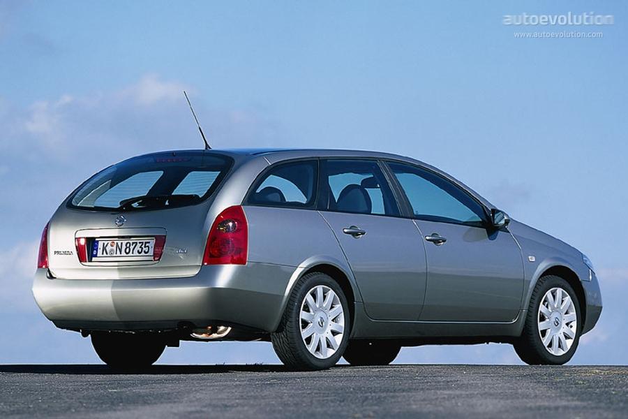 NISSAN Primera Wagon specs & photos - 2002, 2003, 2004 ...
