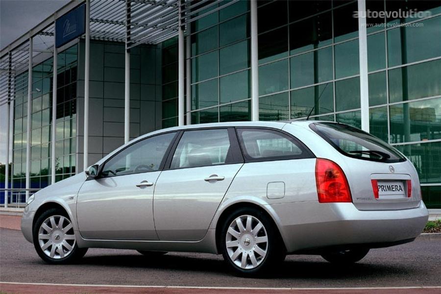 Nissan Primera Wagon 2002 2003 2004 2005 2006 2007