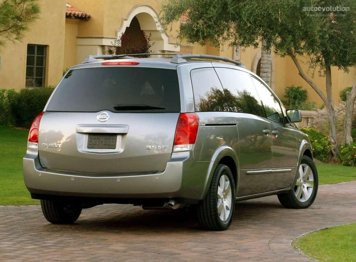 Nissan Quest 2004 2005 2006 2007 2008 Autoevolution