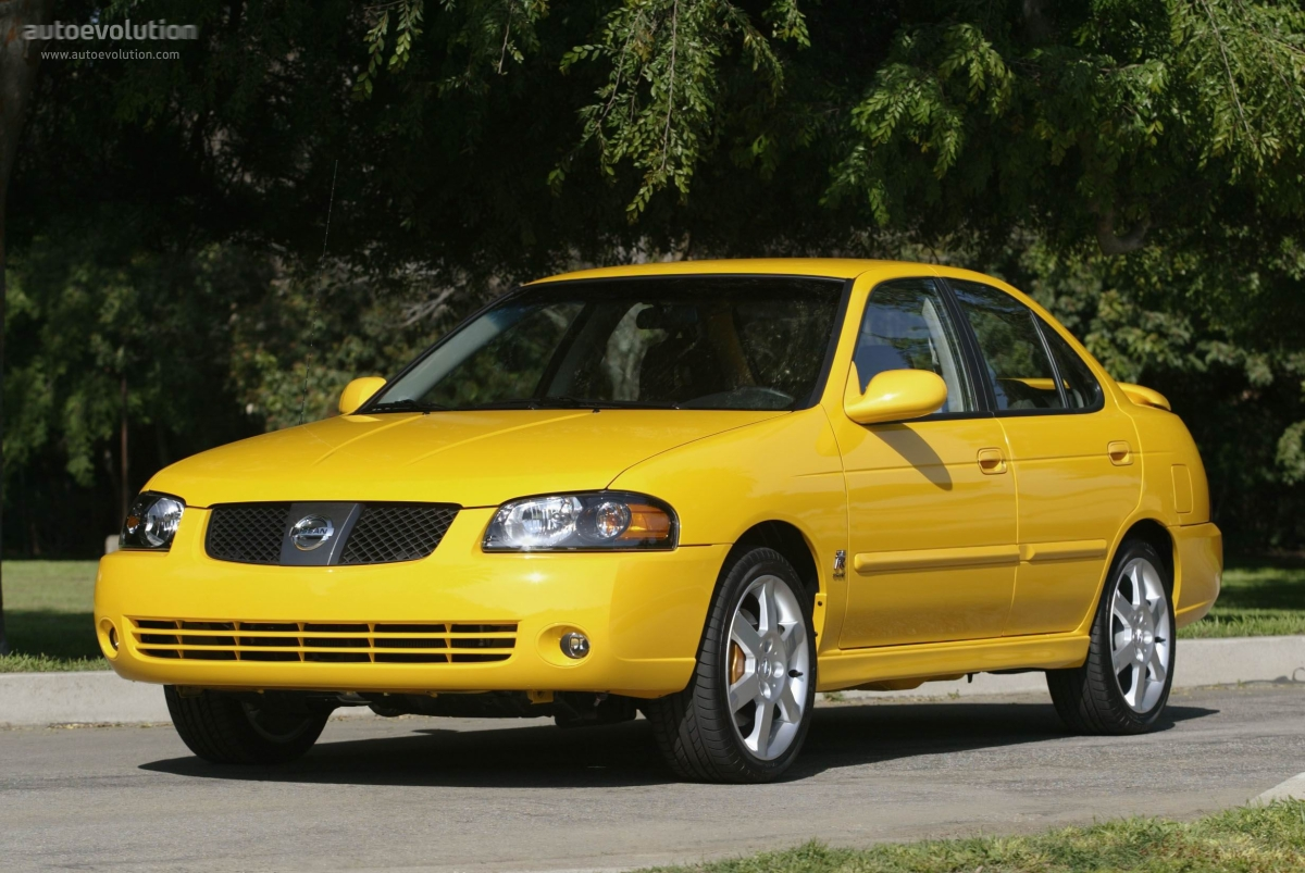 NISSAN Sentra SE-R - 2004, 2005, 2006 - autoevolution