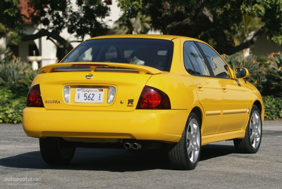 Nissan Sentra Se R 2004 2005 2006 Autoevolution