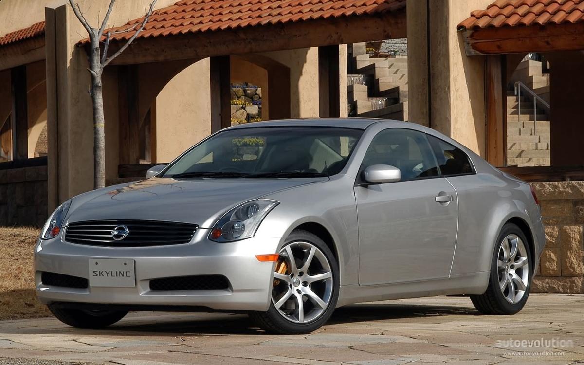 Nissan Skyline Coupe Specs 2002 2003 2004 2005 2006