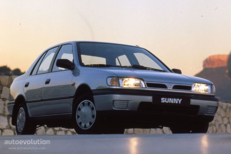 Nissan Sunny Sedan Specs Amp Photos 1993 1994 1995