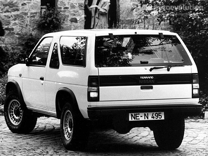 Nissan Terrano 3 Doors Specs Amp Photos 1988 1989 1990