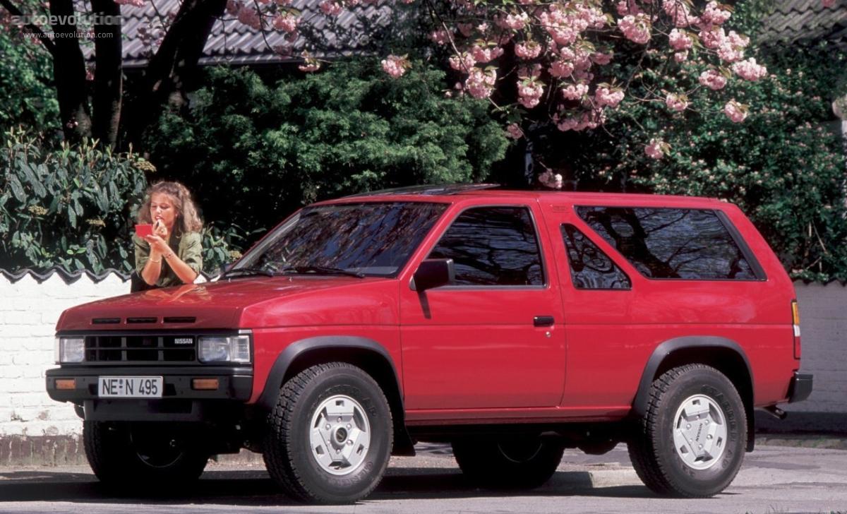 nissan terrano 3 doors 1988 1989 1990 1991 1992 1993 autoevolution. Black Bedroom Furniture Sets. Home Design Ideas