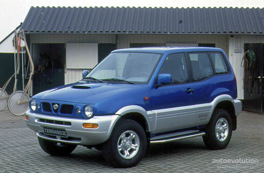 Nissan Terrano Ii 3 Doors 1996 on jaguar 2 door