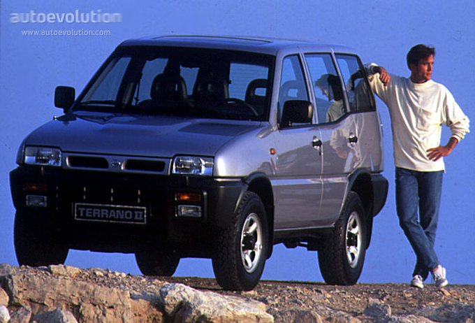 NISSAN Terrano II 5 Doors specs & photos - 1993, 1994, 1995, 1996 - autoevolution