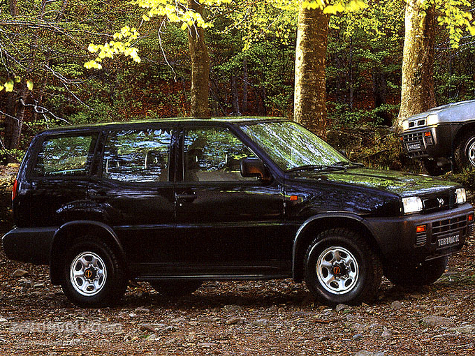 NISSAN Terrano II 5 Doors specs & photos - 1993, 1994 ...