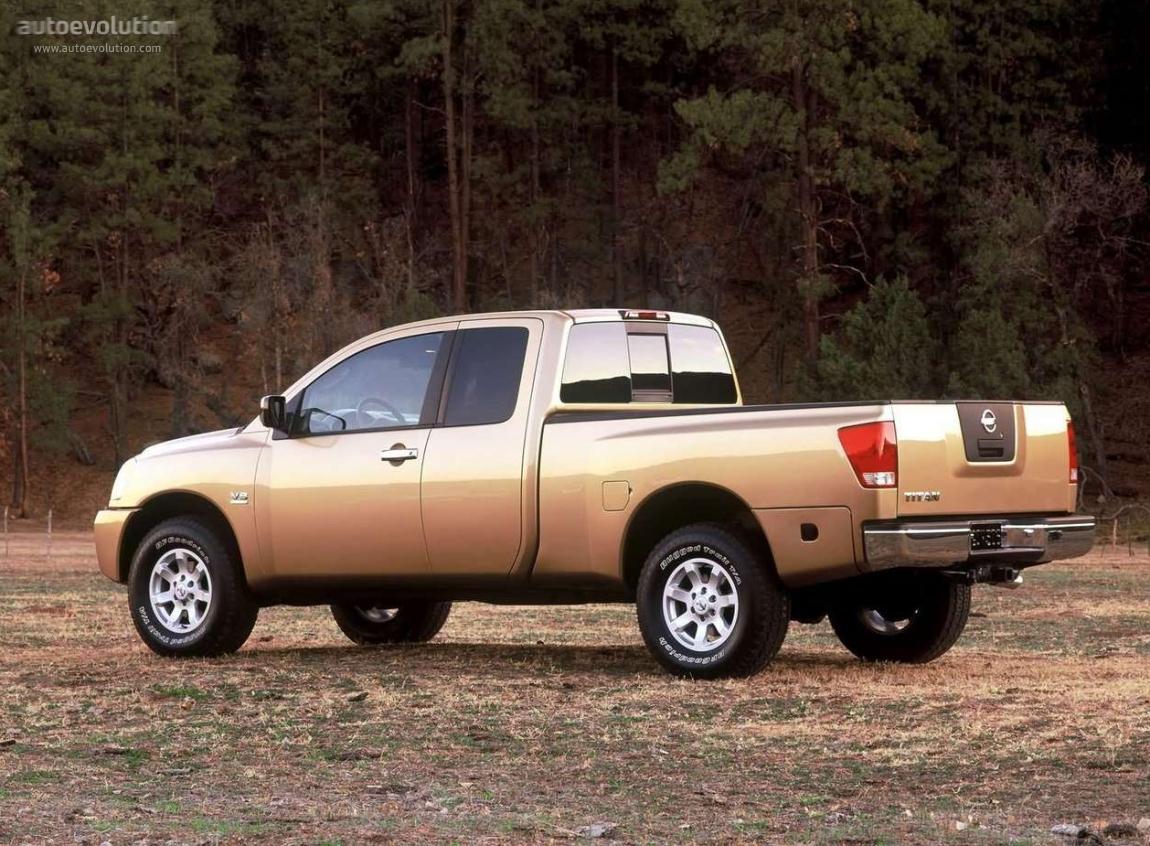 Nissan Titan King Cab 2004 2005 2006 2007 2008 2009