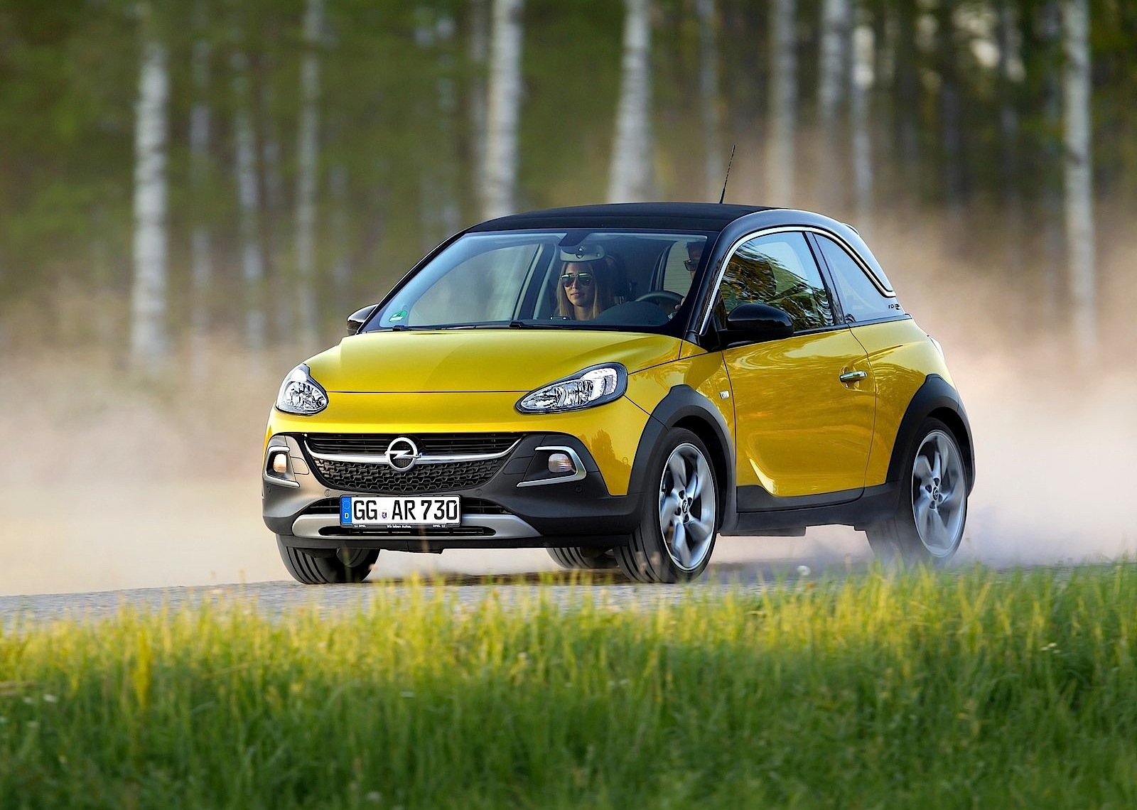 opel adam rocks 2014 2015 2016 autoevolution. Black Bedroom Furniture Sets. Home Design Ideas