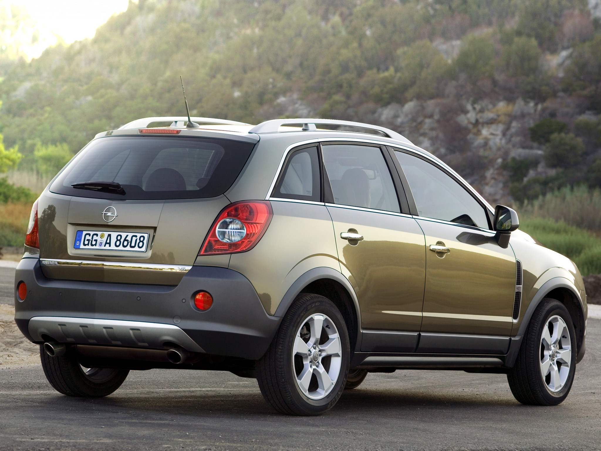Opel Antara on Gm 3 4 V6 Engine
