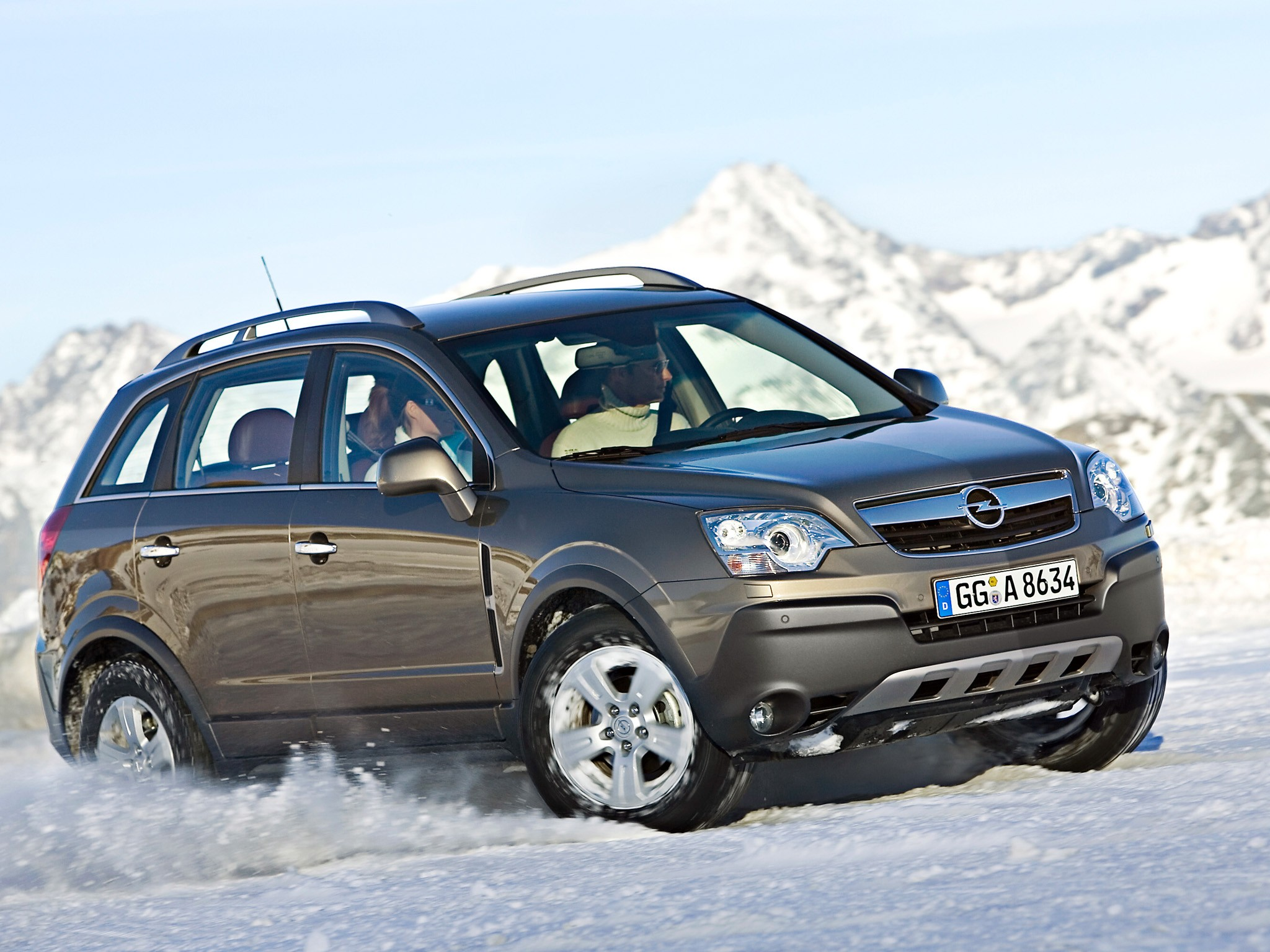 OPEL Antara specs & photos - 2007, 2008, 2009, 2010 ...