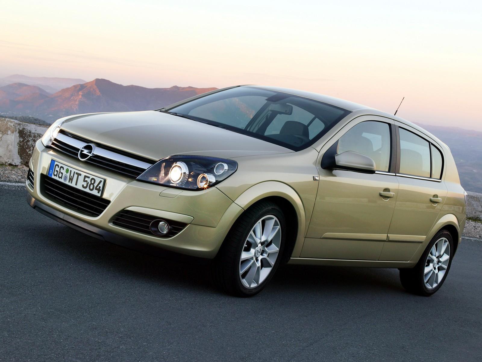 Opel Astra 5 Doors Specs 2004 2005 2006 2007