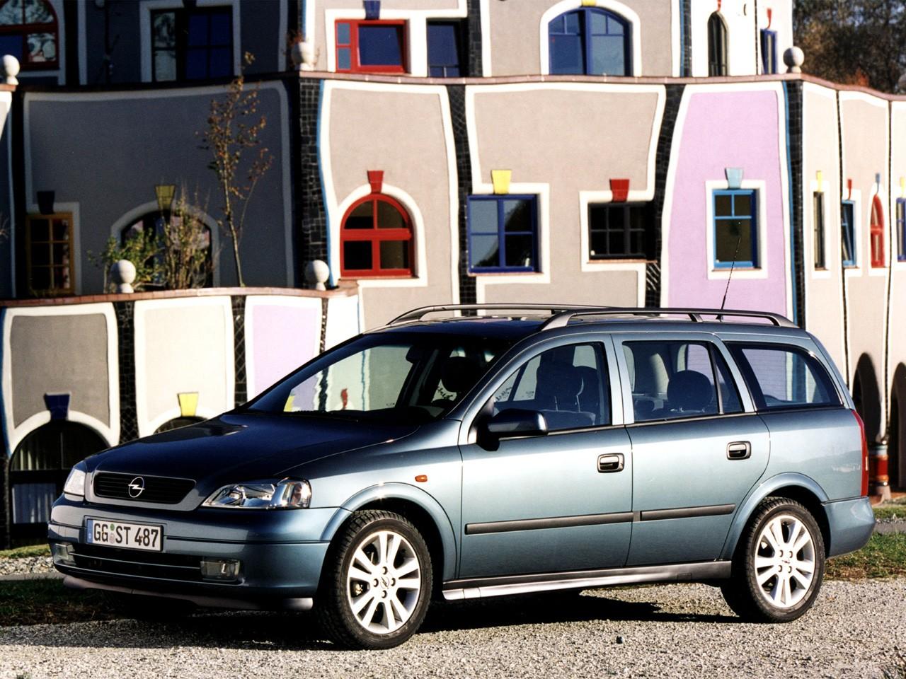... OPEL Astra Caravan (1998 - 2004) ...