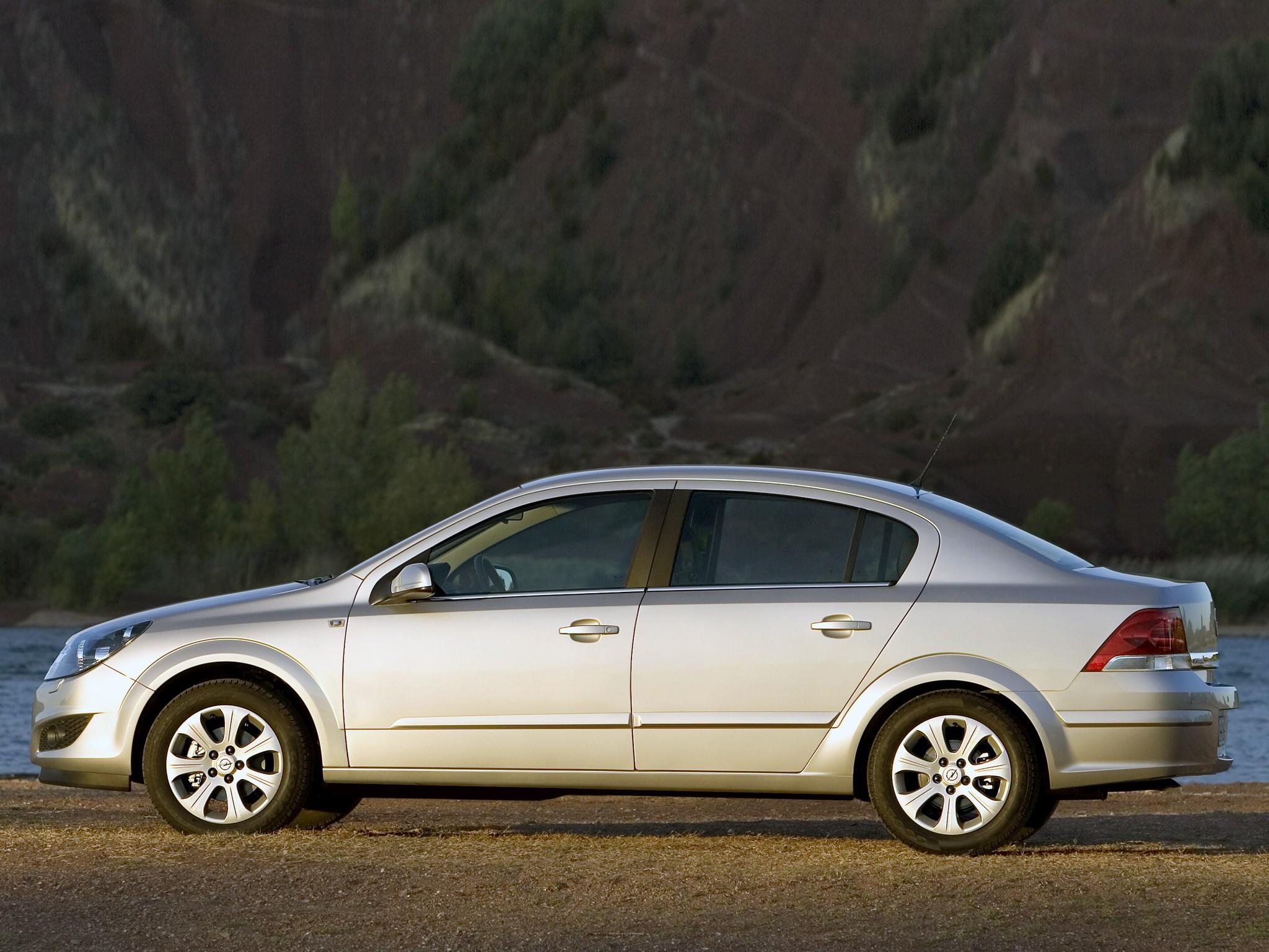 opel astra sedan - 2007  2008  2009