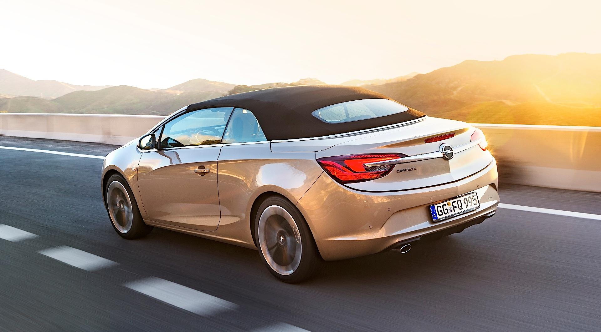 Opel Cascada 2013 2014 2015 2016 2017 Autoevolution