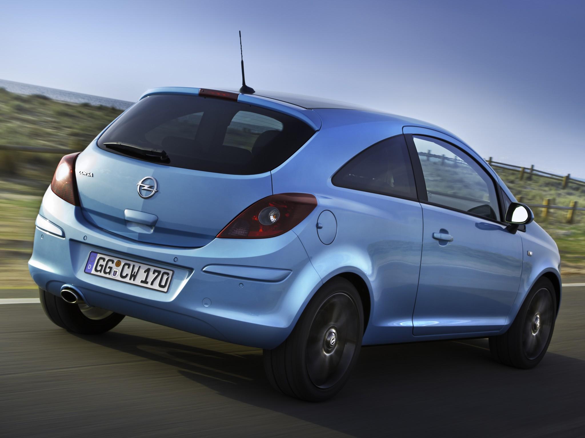 Opel corsa 3 doors 2010 2011 2012 2013 2014 2015 for Opel corsa 2010 interior