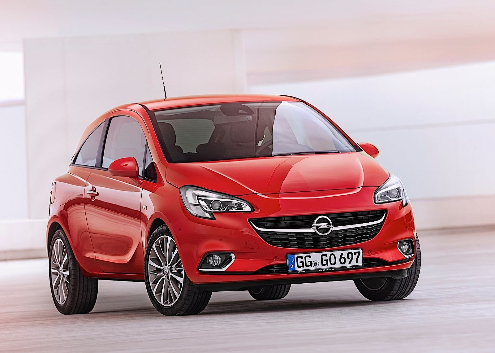 opel corsa 3 doors 2014 2015 2016 2017 autoevolution. Black Bedroom Furniture Sets. Home Design Ideas