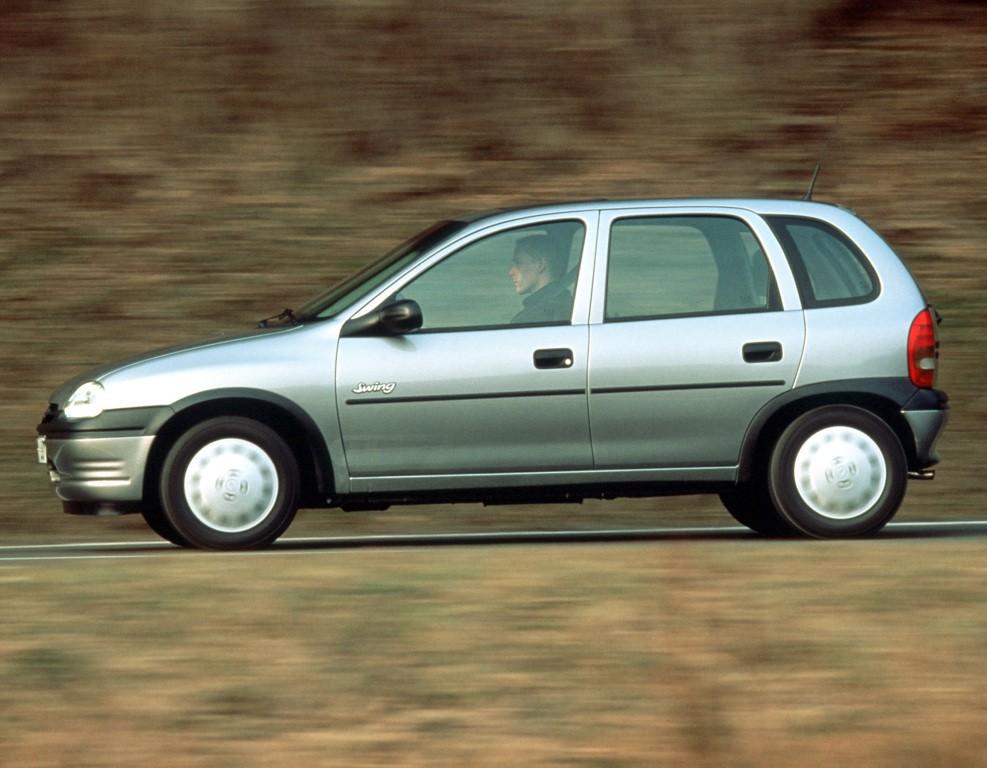 opel corsa 5 doors specs photos 1993 1994 1995 1996 1997 autoevolution. Black Bedroom Furniture Sets. Home Design Ideas