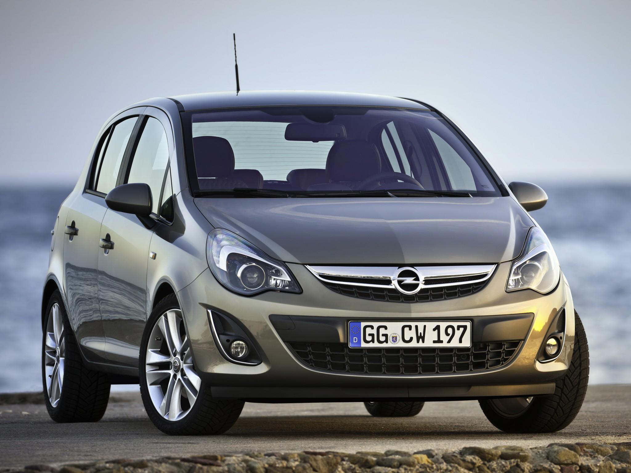 Opel Corsa 5 Doors 2010 2011 2012 2013 2014 2015