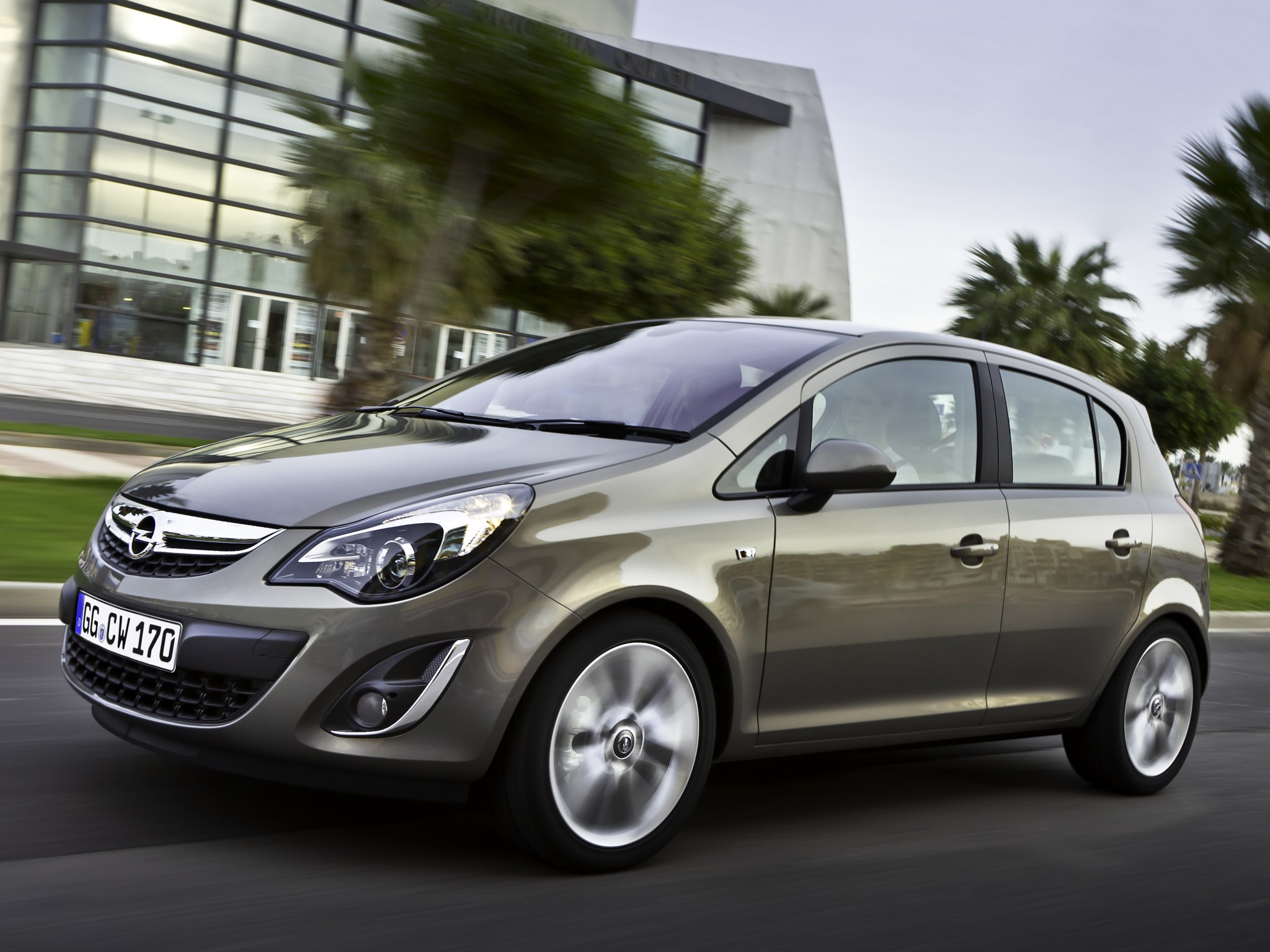 Opel Corsa 5 Doors - 2010  2011  2012  2013  2014  2015  2016  2017