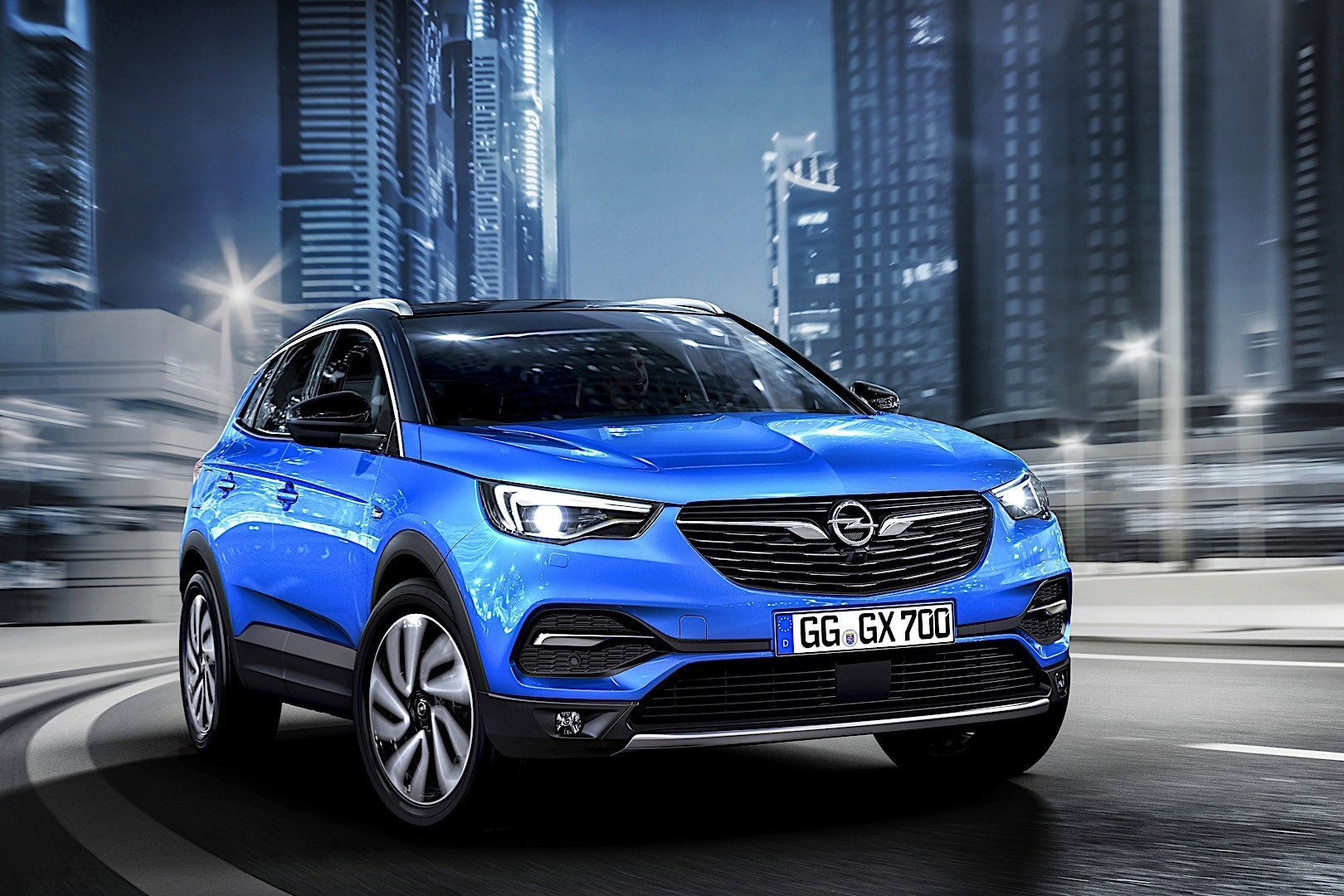 Opel Grandland X Specs Amp Photos 2017 2018 2019
