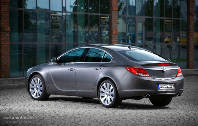 Opel Insignia Hatchback 2008 2009 2010 2011 2012