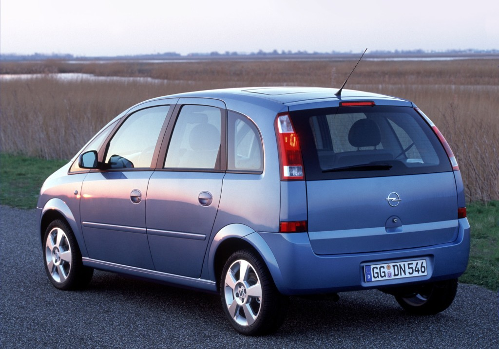 Opel Meriva Specs 2005 2006 2007 2008 2009