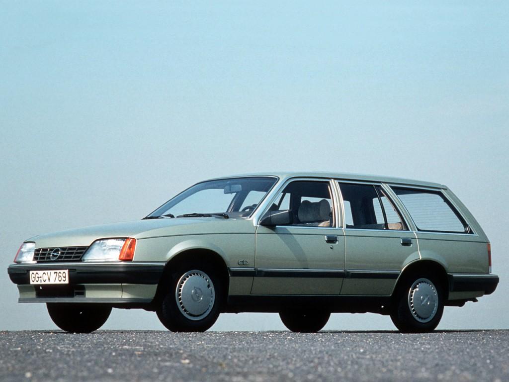opel rekord caravan specs  photos  1982 1983 1984