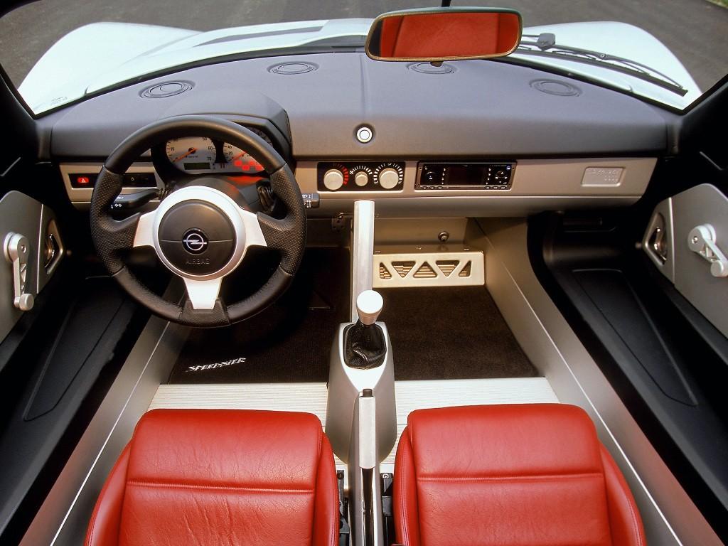 2000-2005 AUTOPLANE Classic Intérieur OPEL SPEEDSTER