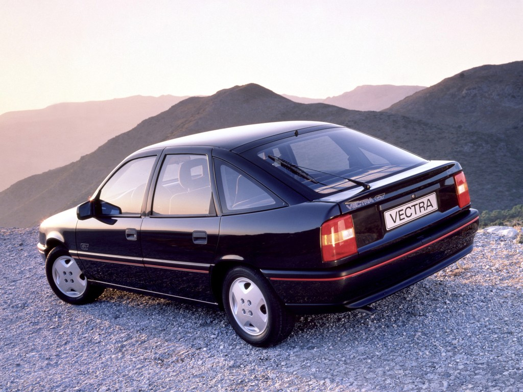 Opel Vectra Hatchback Specs Photos 1988 1989 1990 1991