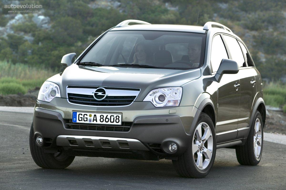 European Auto Parts >> OPEL Antara specs & photos - 2007, 2008, 2009, 2010 - autoevolution