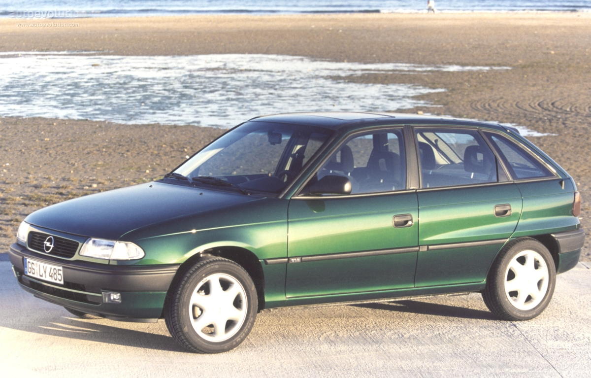 опель астра 1994