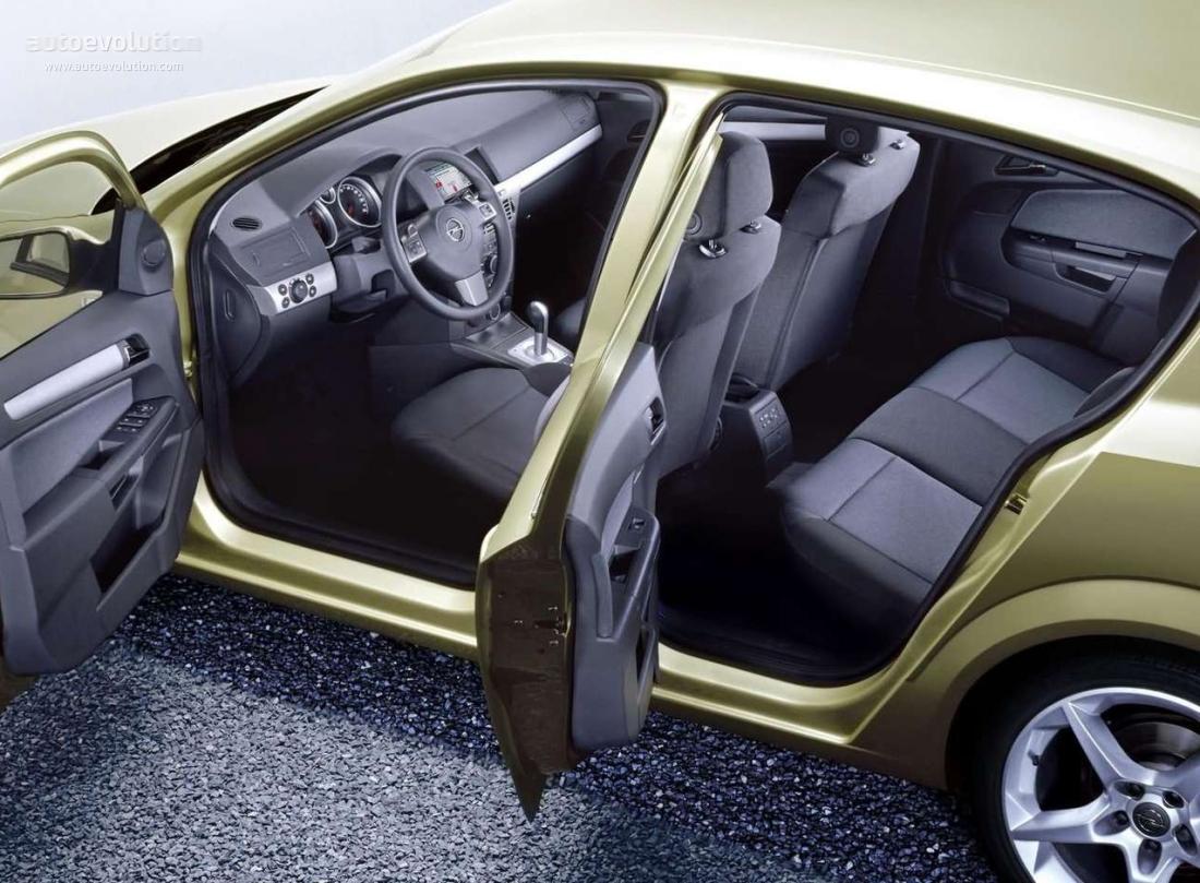 OPEL Astra 5 Doors specs & photos - 2004, 2005, 2006, 2007 ...