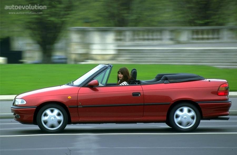 Opel Astra Cabriolet 1995 1996 1997 1998 1999