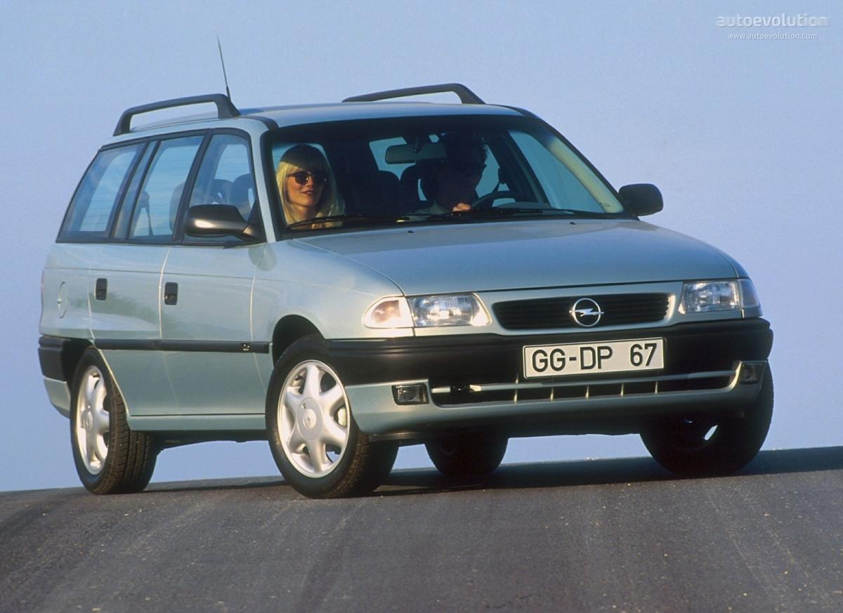 ... OPEL Astra Caravan (1994 - 1998) ...