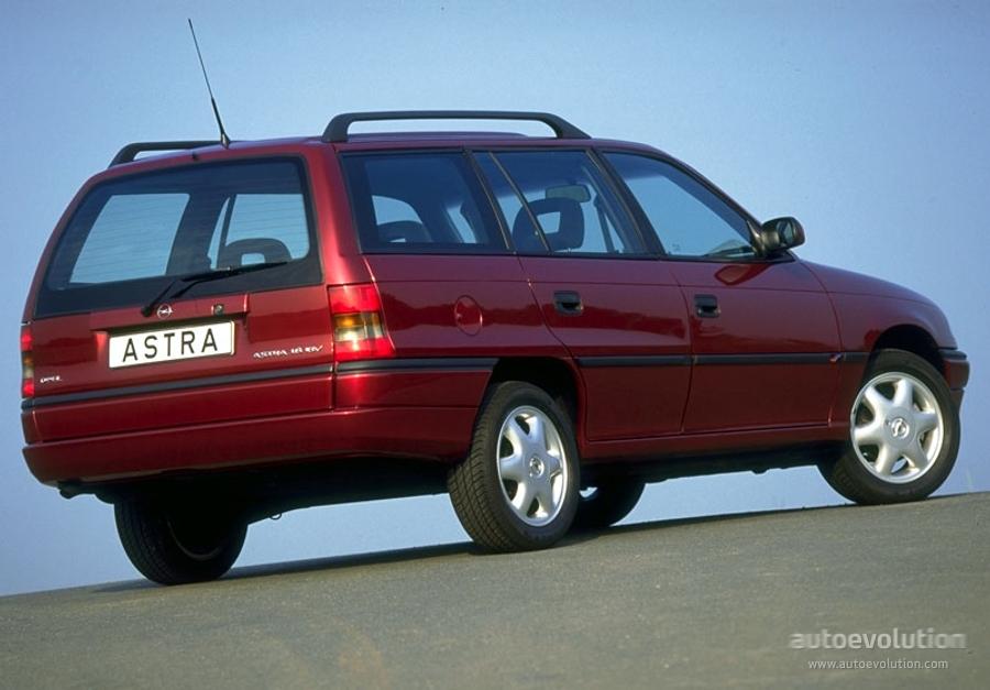 OPEL Astra Caravan Specs