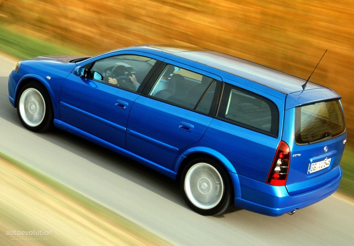 Opel Astra Caravan Opc Specs Photos 2002 2003 2004 Autoevolution