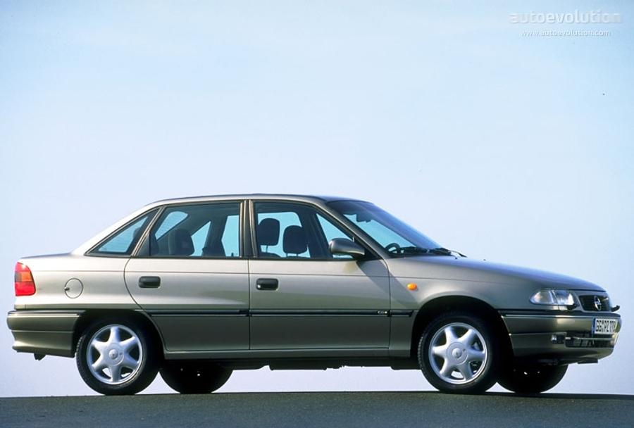 Opel Astra Sedan Specs Photos 1994 1995 1996 1997 1998 Autoevolution
