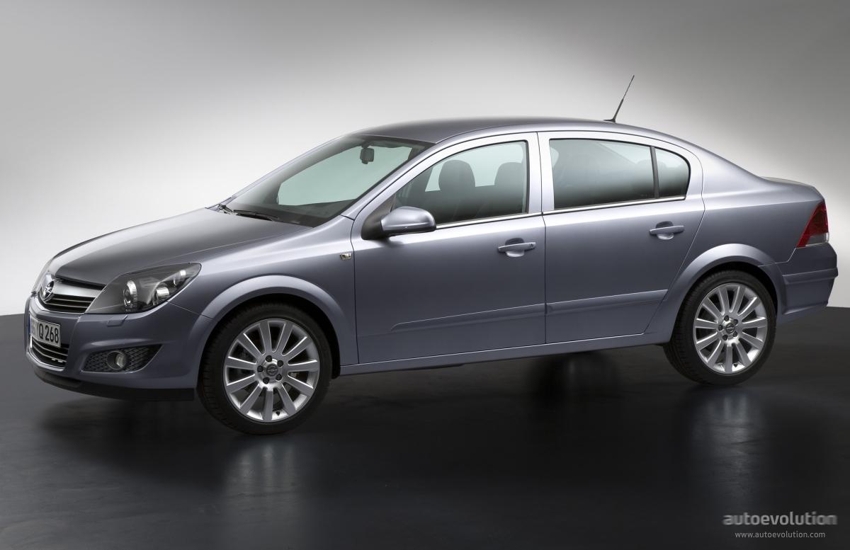 Opel Astra Sedan 2007 2008 2009 Autoevolution