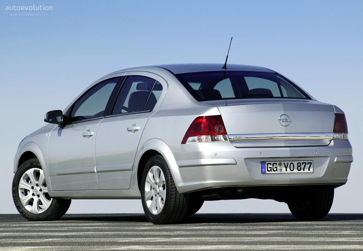 opel astra sedan specs - 2007  2008  2009