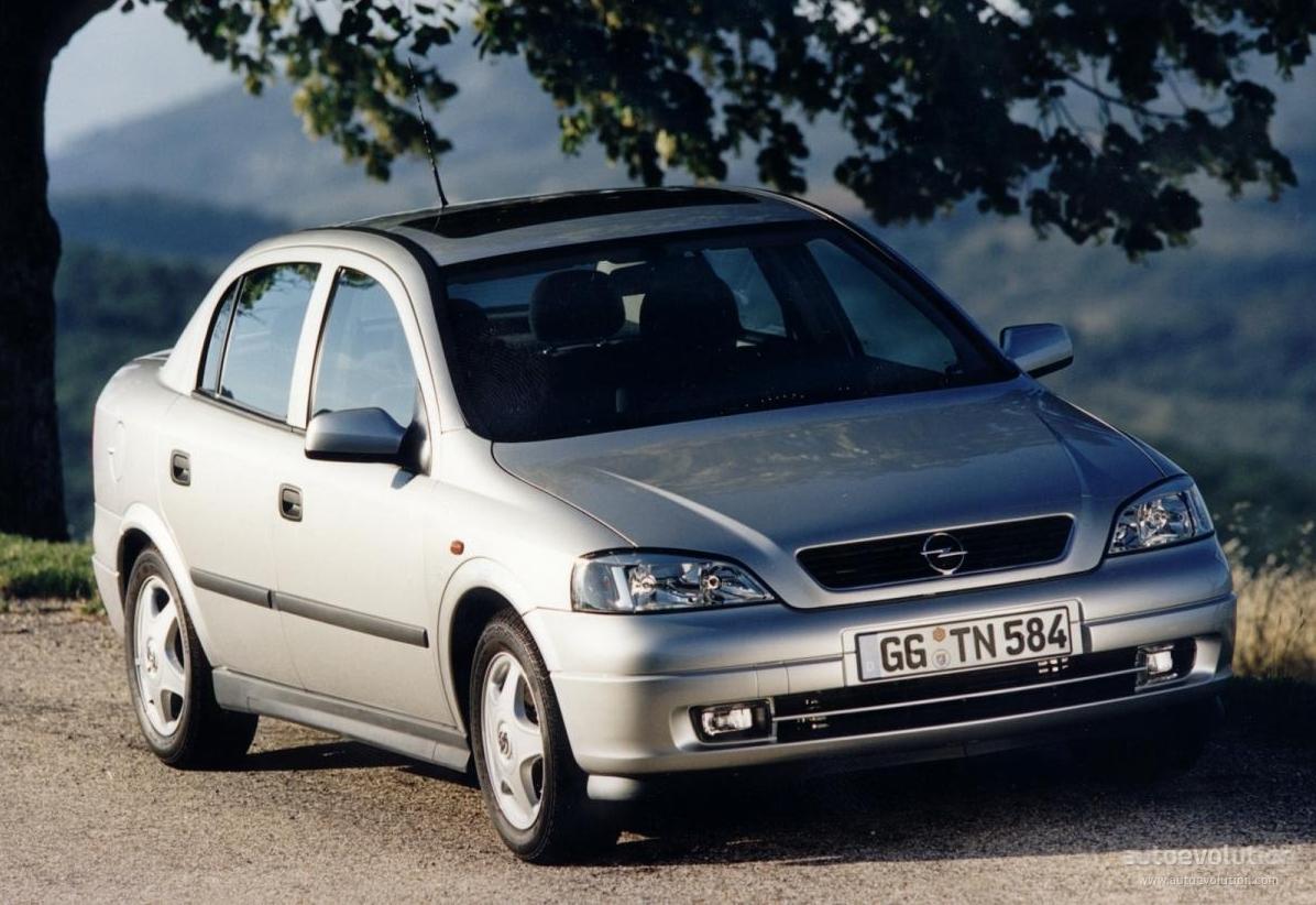 Opel Astra Sedan Specs 1998 1999 2000 2001 2002