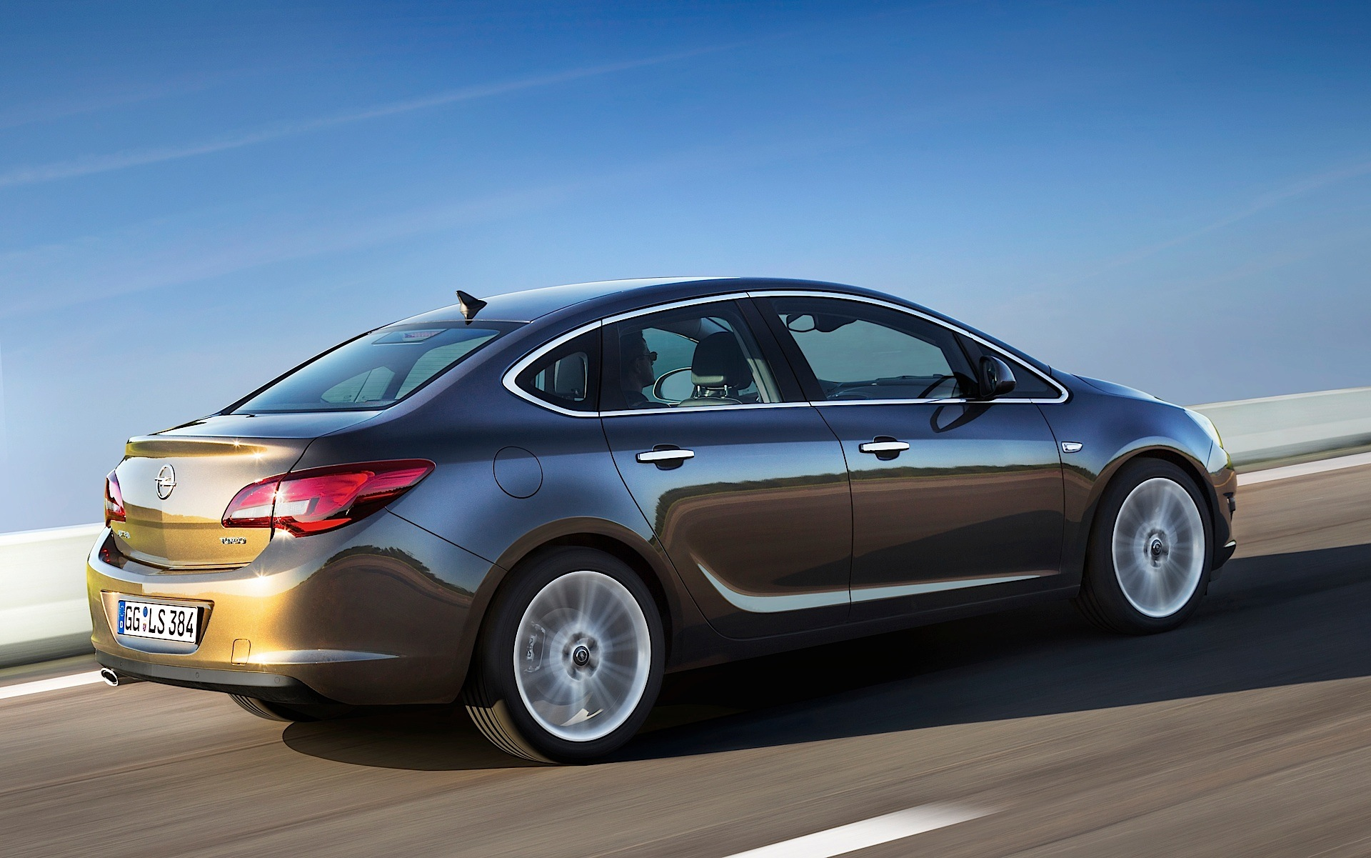 ... OPEL Astra Sport Sedan (2012   Present) ...