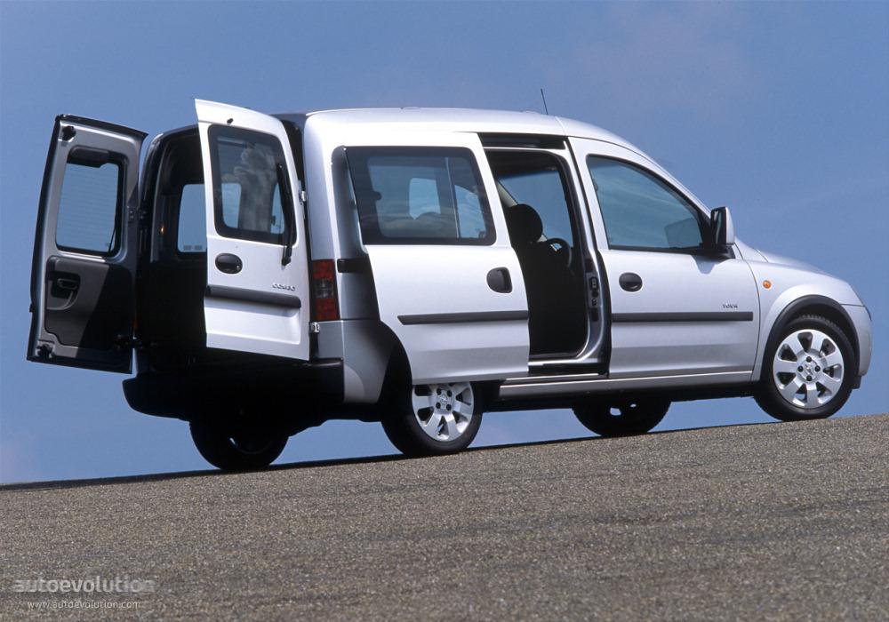 Opel Combo 2002 2003 2004 2005 2006 2007 2008 2009 2010 2011 2012 2013 2014 2015