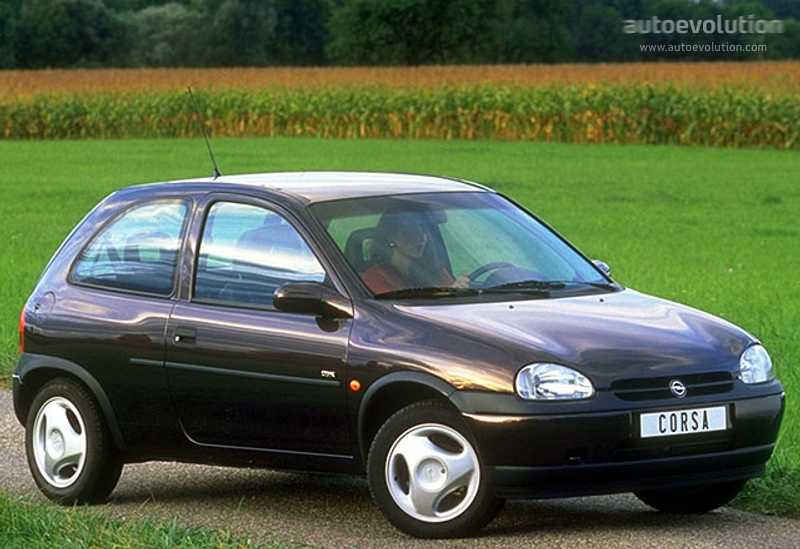 opel corsa 3 doors specs & photos - 1993, 1994, 1995, 1996, 1997