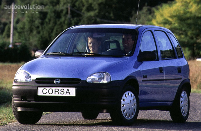 opel corsa 5 doors specs 1993 1994 1995 1996 1997. Black Bedroom Furniture Sets. Home Design Ideas