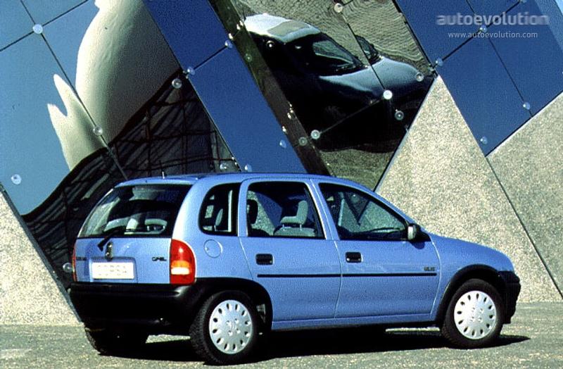 Opel Corsa 5 Doors 1993 1994 1995 1996 1997