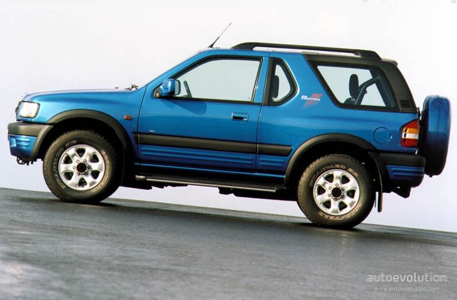 Opel Frontera Sport Specs 1998 1999 2000 2001 2002