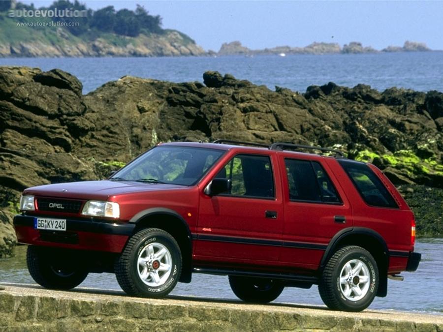 Opel Frontera Wagon 1995 1996 1997 1998 Autoevolution